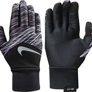 Nike dri-fit tempo womens running gloves Small